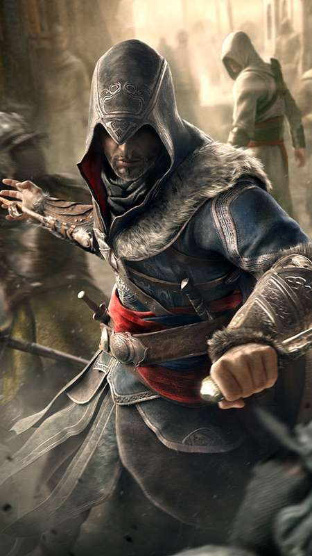 Assassin's Creed Revelations Mobiele Verticaal achtergrond