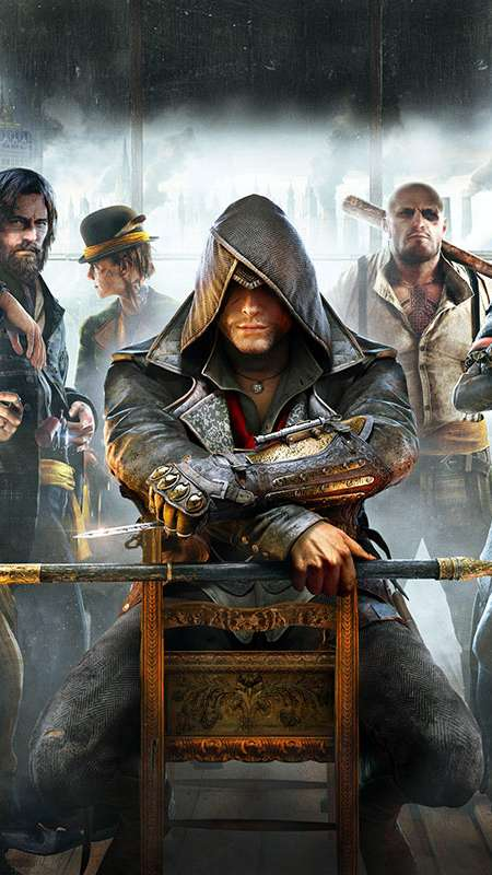 Assassin's Creed: Syndicate Mobiele Verticaal achtergrond