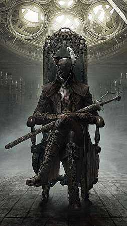 Bloodborne: The Old Hunters Mobiele Verticaal achtergrond