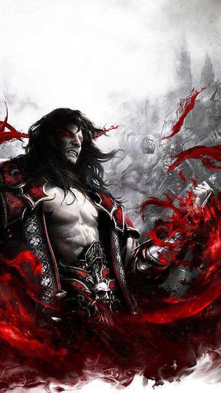 Castlevania: Lords of Shadow 2 Mobiele Verticaal achtergrond
