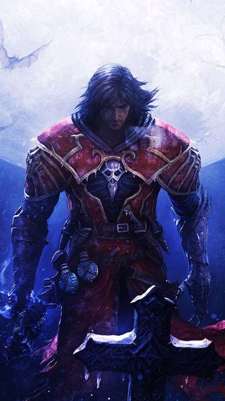 Castlevania: Lords of Shadow 'Reverie' Mobiele Verticaal achtergrond