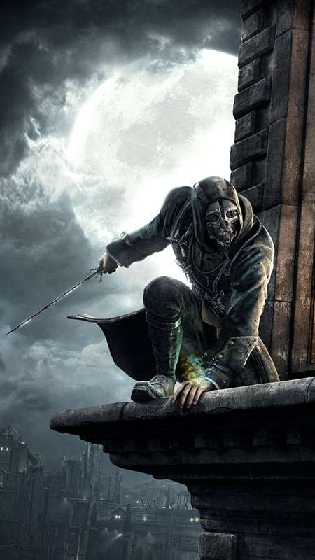 Dishonored Mobiele Verticaal achtergrond