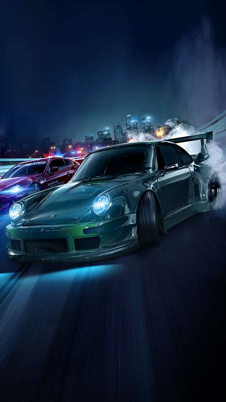 Need for Speed Mobiele Verticaal achtergrond