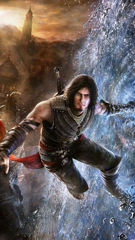 Prince of Persia: The Forgotten Sands Mobiele Verticaal achtergrond