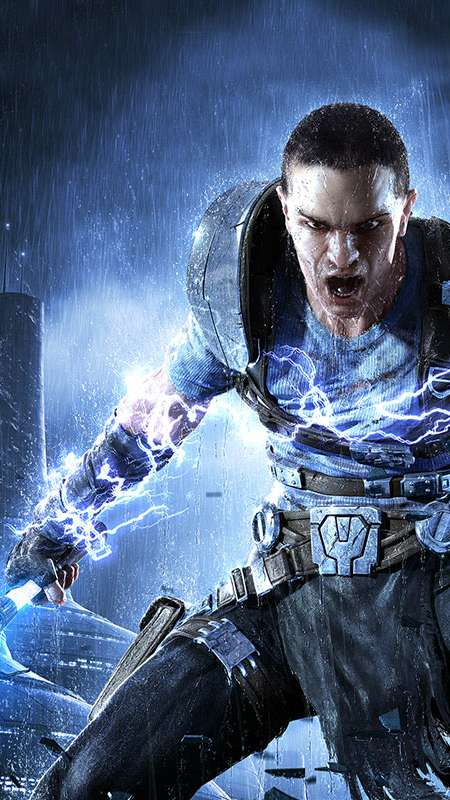 Star Wars: The Force Unleashed 2 Mobiele Verticaal achtergrond