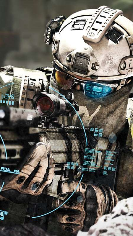 Tom Clancy's Ghost Recon: Future Soldier Mobiele Verticaal achtergrond