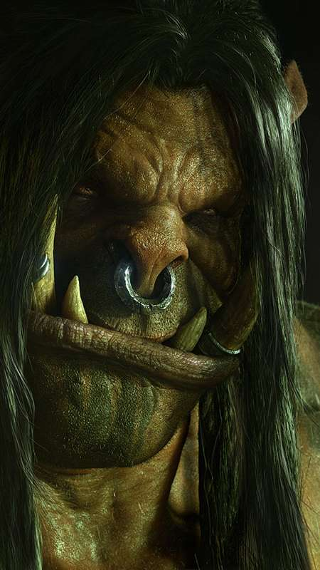 World of Warcraft: Warlords of Draenor Mobiele Verticaal achtergrond