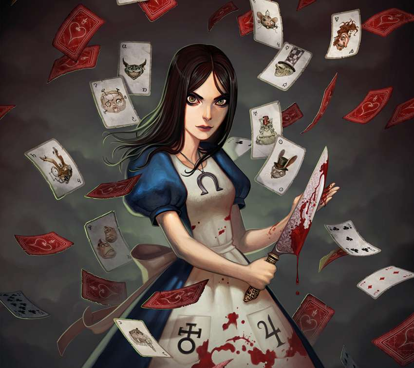 Alice: Madness Returns Mobiele Horizontaal achtergrond