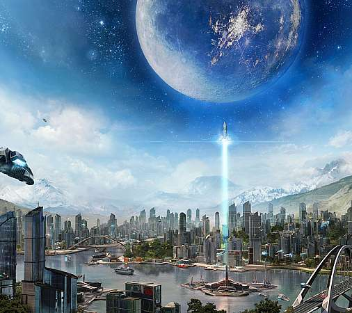 Anno 2205 Mobiele Horizontaal achtergrond