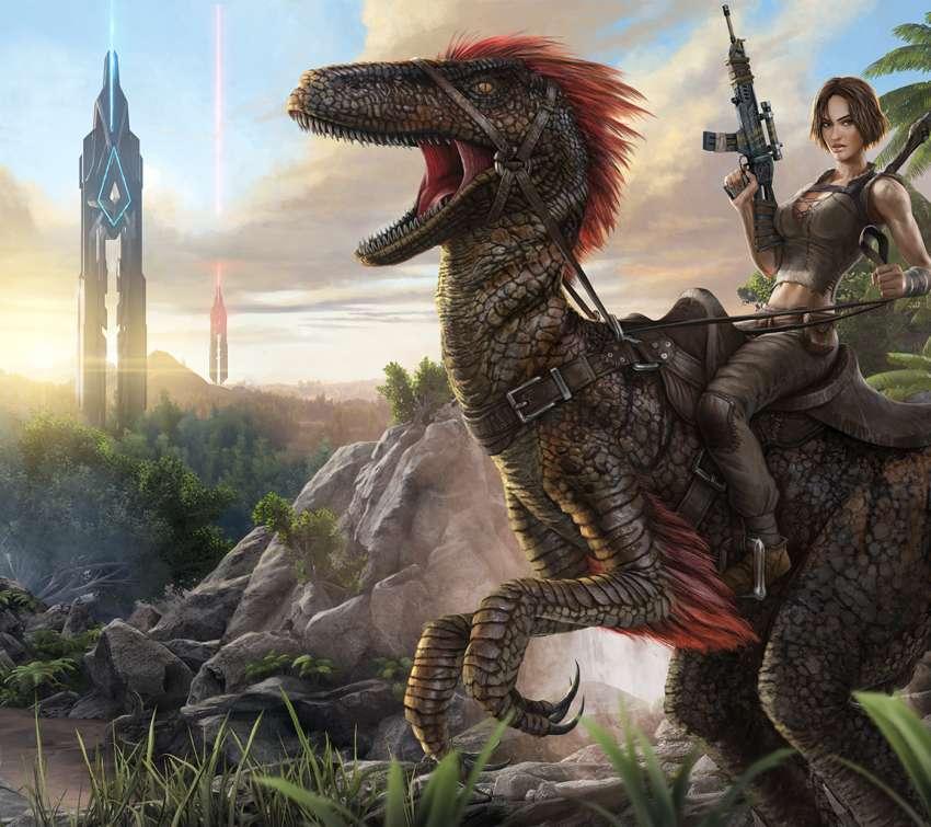 Tomb Rider Wallpaper: Cyberbabe Spel Achtergronden