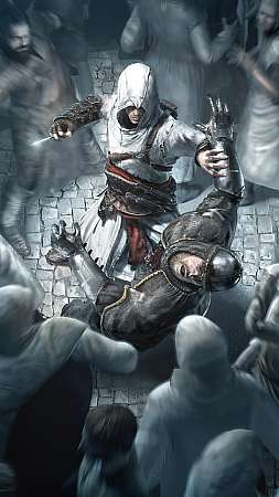 Assassin's Creed Mobiele Verticaal achtergrond