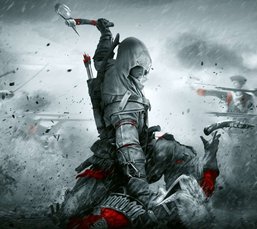 Assassin's Creed III: Remastered Mobiele Horizontaal achtergrond