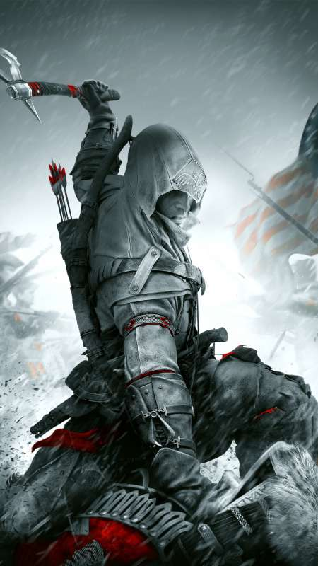 Assassin's Creed III: Remastered Mobiele Verticaal achtergrond