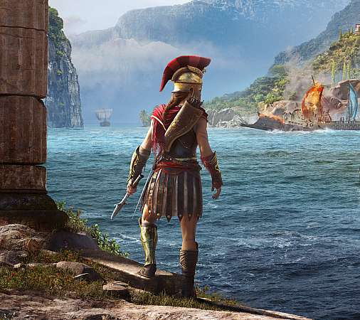 Assassin's Creed: Odyssey Mobiele Horizontaal achtergrond
