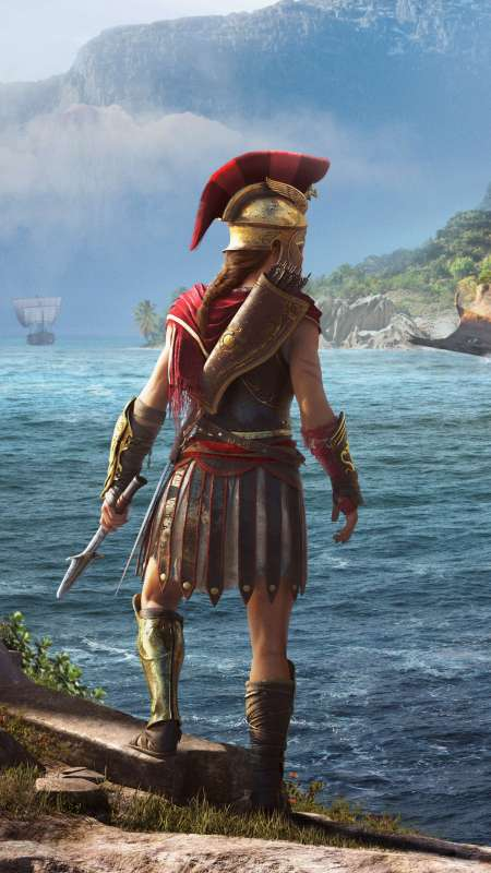 Assassin's Creed: Odyssey Mobiele Verticaal achtergrond