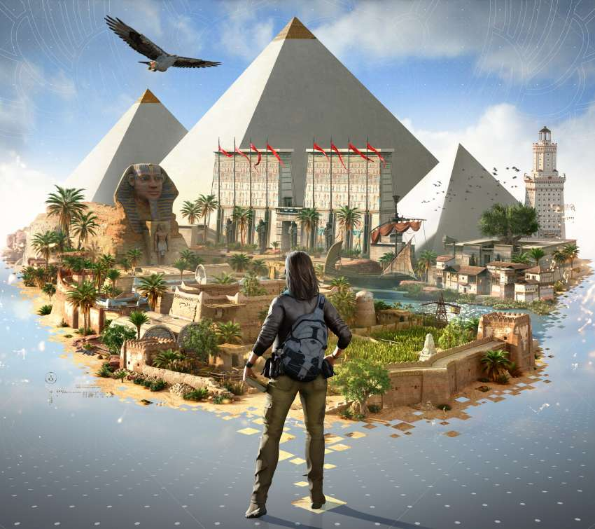 Assassin's Creed: Origins Mobiele Horizontaal achtergrond