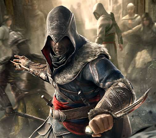 Assassin's Creed Revelations Mobiele Horizontaal achtergrond