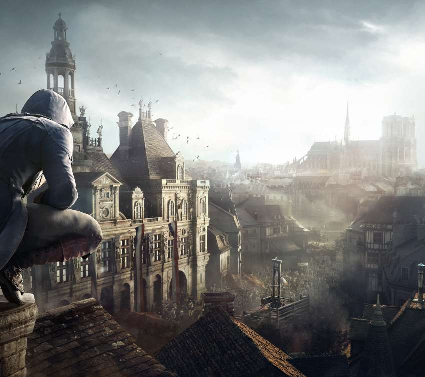 Assassin's Creed: Unity Mobiele Horizontaal achtergrond