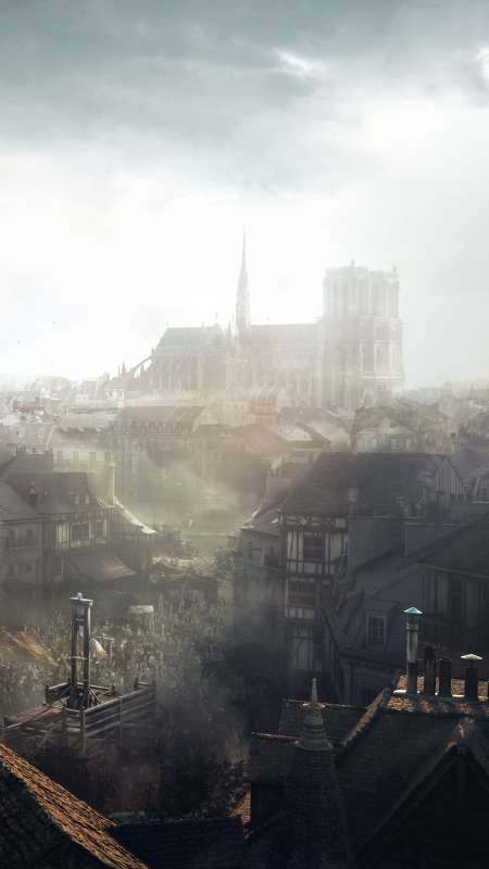 Assassin's Creed: Unity Mobiele Verticaal achtergrond