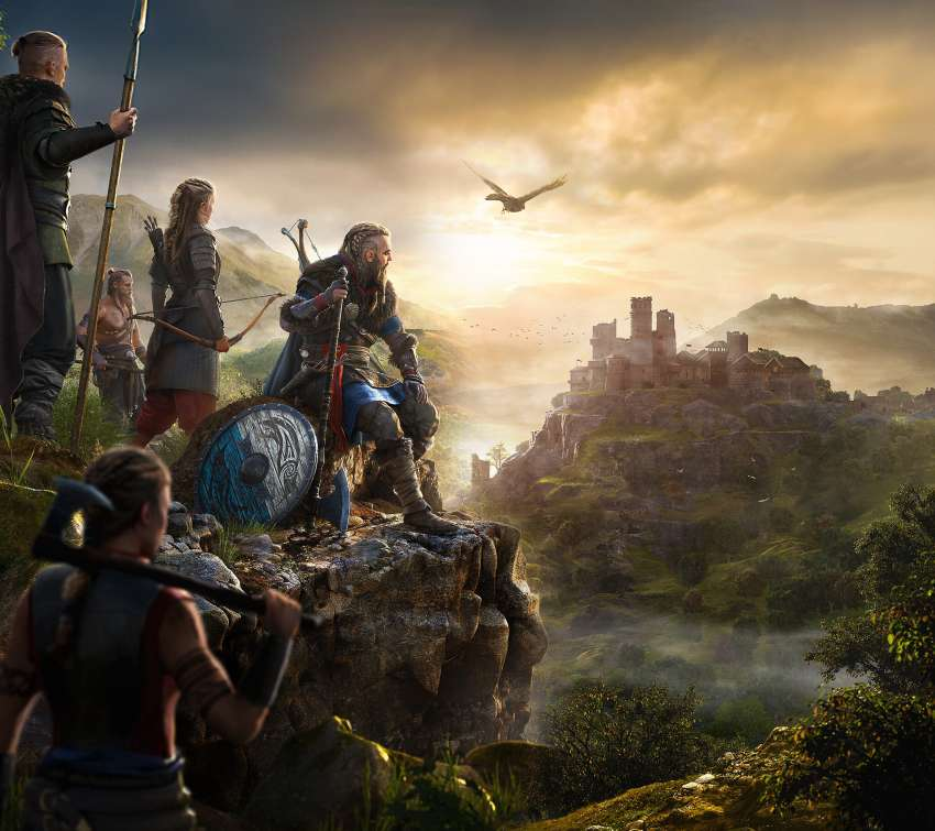 Assassin's Creed: Valhalla Mobiele Horizontaal achtergrond