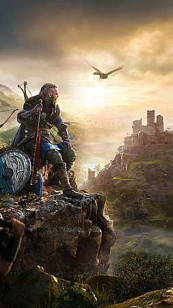 Assassin's Creed: Valhalla Mobiele Verticaal achtergrond