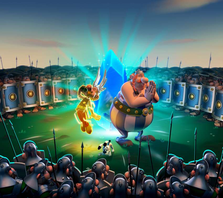Asterix & Obelix XXL3: The Crystal Menhir Mobiele Horizontaal achtergrond