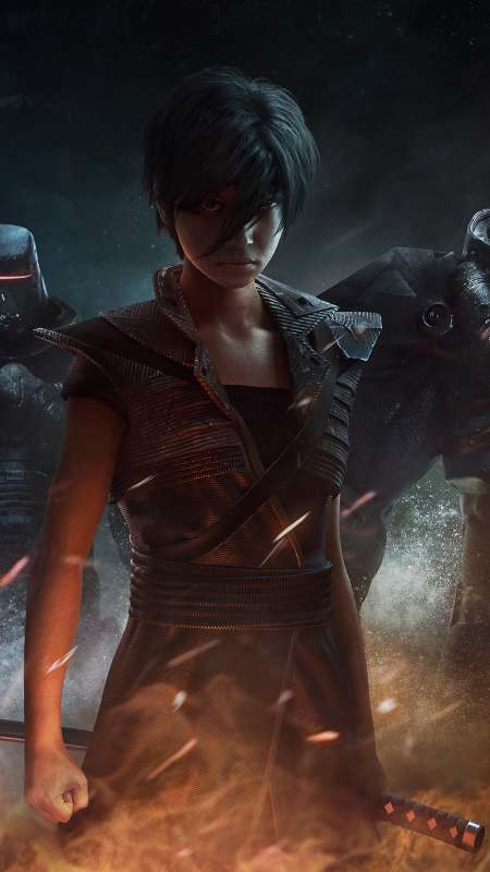 Beyond Good and Evil 2 Mobiele Verticaal achtergrond