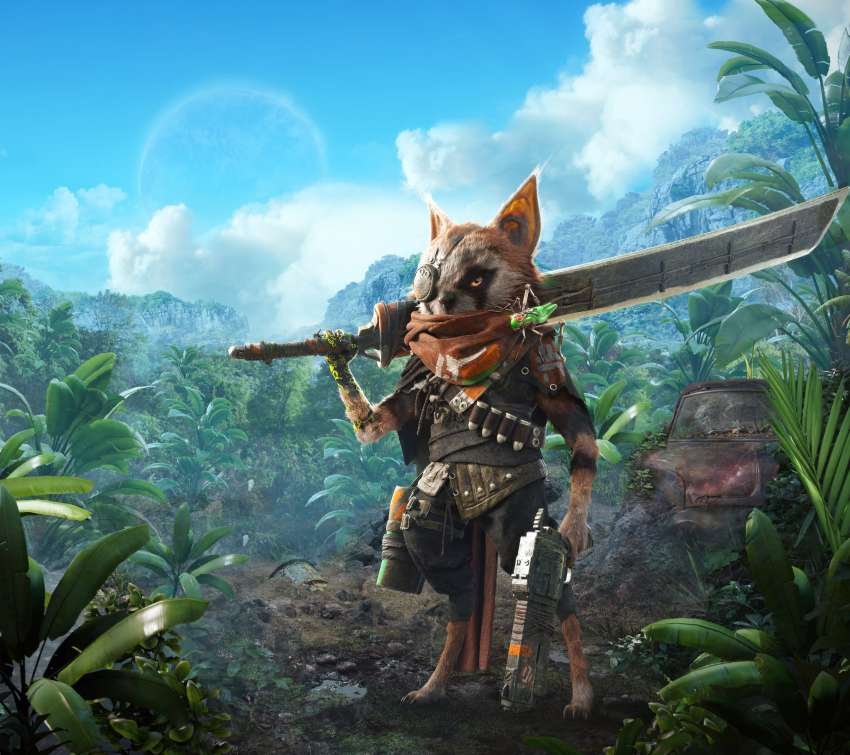 BioMutant Mobiele Horizontaal achtergrond