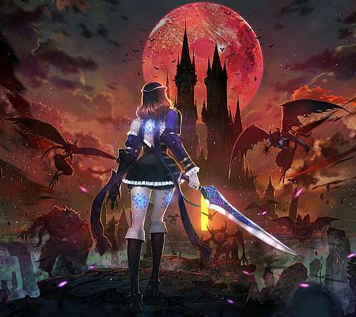 Bloodstained: Ritual of the Night Mobiele Horizontaal achtergrond