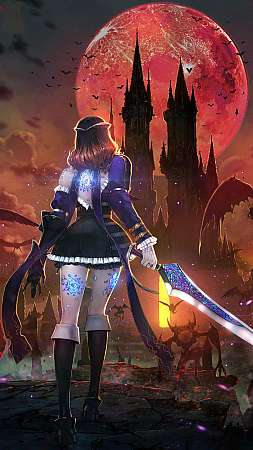 Bloodstained: Ritual of the Night Mobiele Verticaal achtergrond