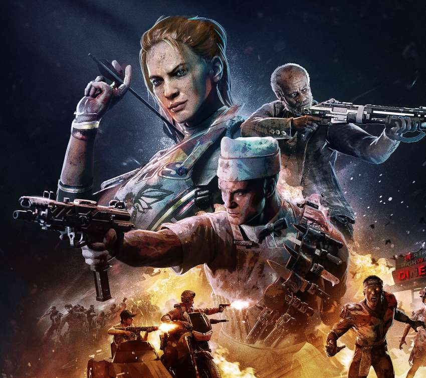 Call of Duty: Black Ops 4 - Operation Apocalypse Z Mobiele Horizontaal achtergrond
