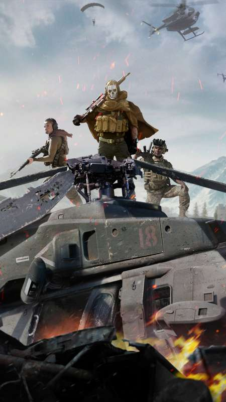 Call of Duty: Warzone Mobiele Verticaal achtergrond