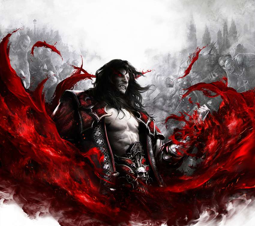 Castlevania: Lords of Shadow 2 Mobiele Horizontaal achtergrond