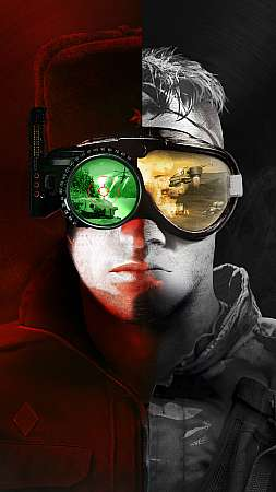 Command & Conquer Remastered Collection Mobiele Verticaal achtergrond