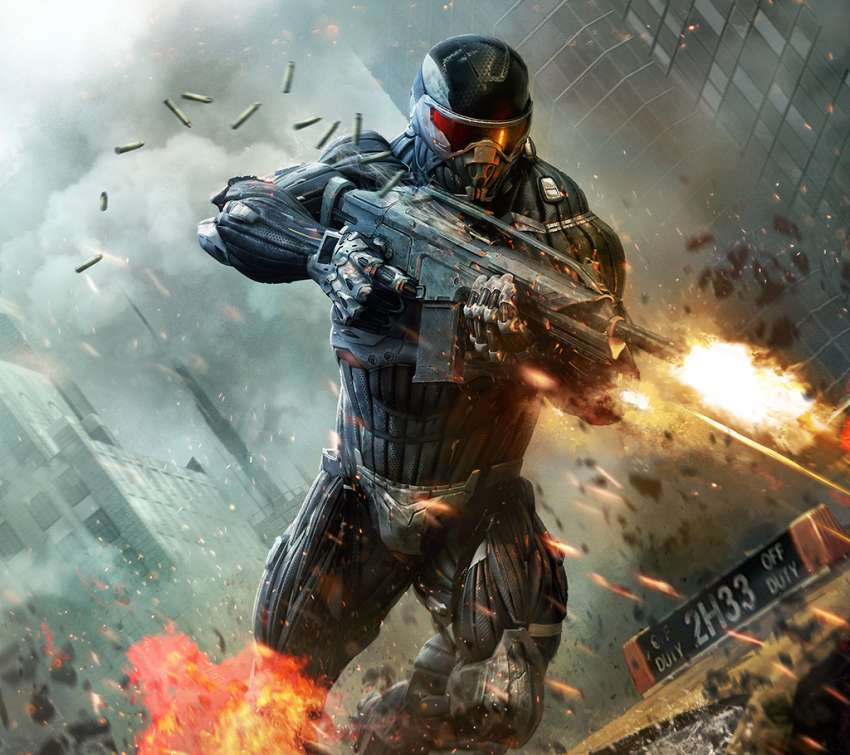 Crysis 2 Mobiele Horizontaal achtergrond