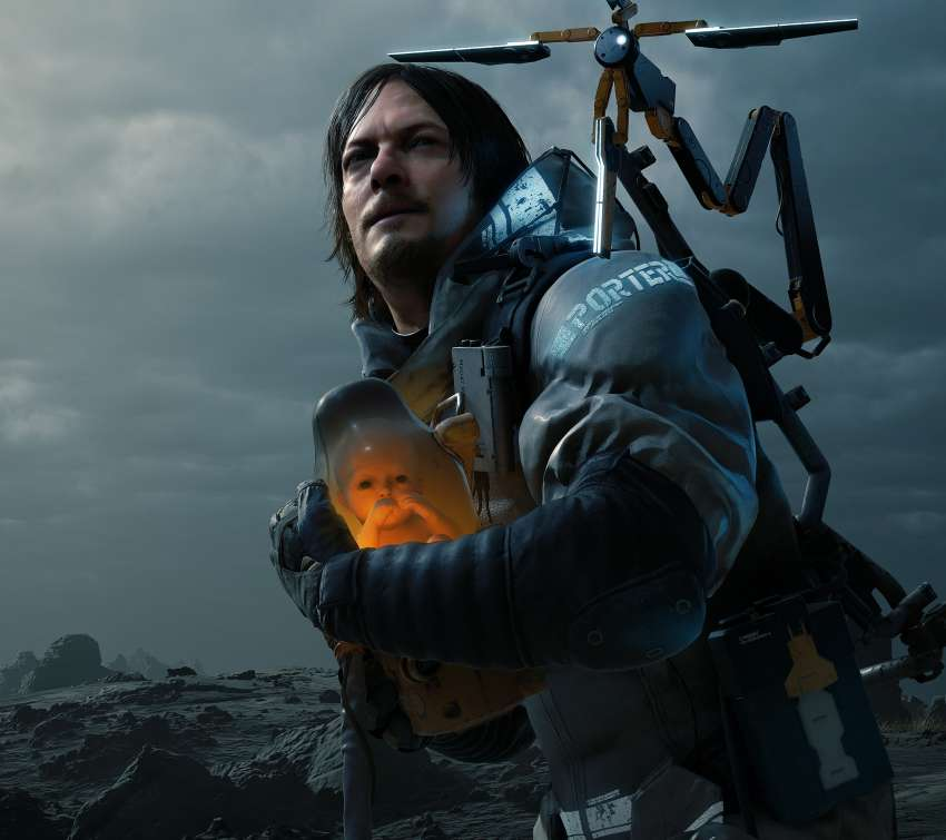 Death Stranding Mobiele Horizontaal achtergrond