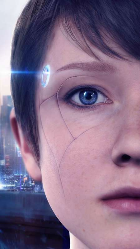 Detroit: Become Human Mobiele Verticaal achtergrond