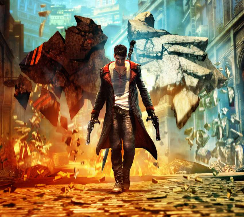 DmC Devil May Cry achtergrond