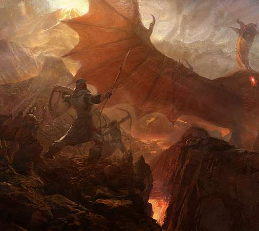Dragon's Dogma Mobiele Horizontaal achtergrond