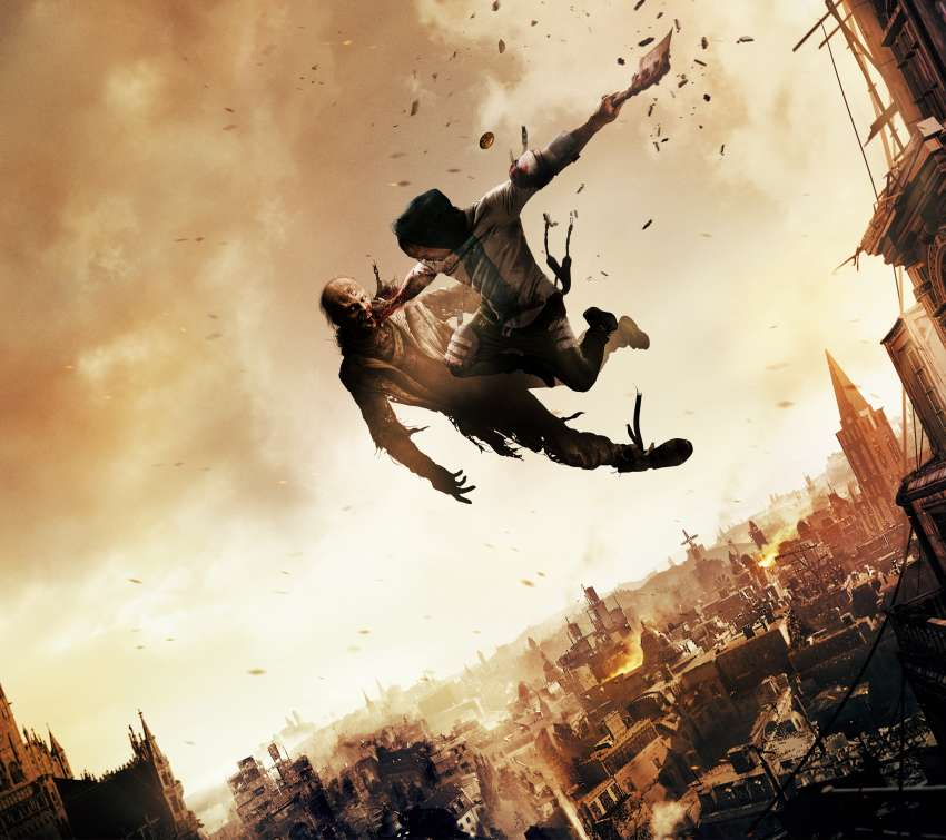 Dying Light 2 Mobiele Horizontaal achtergrond