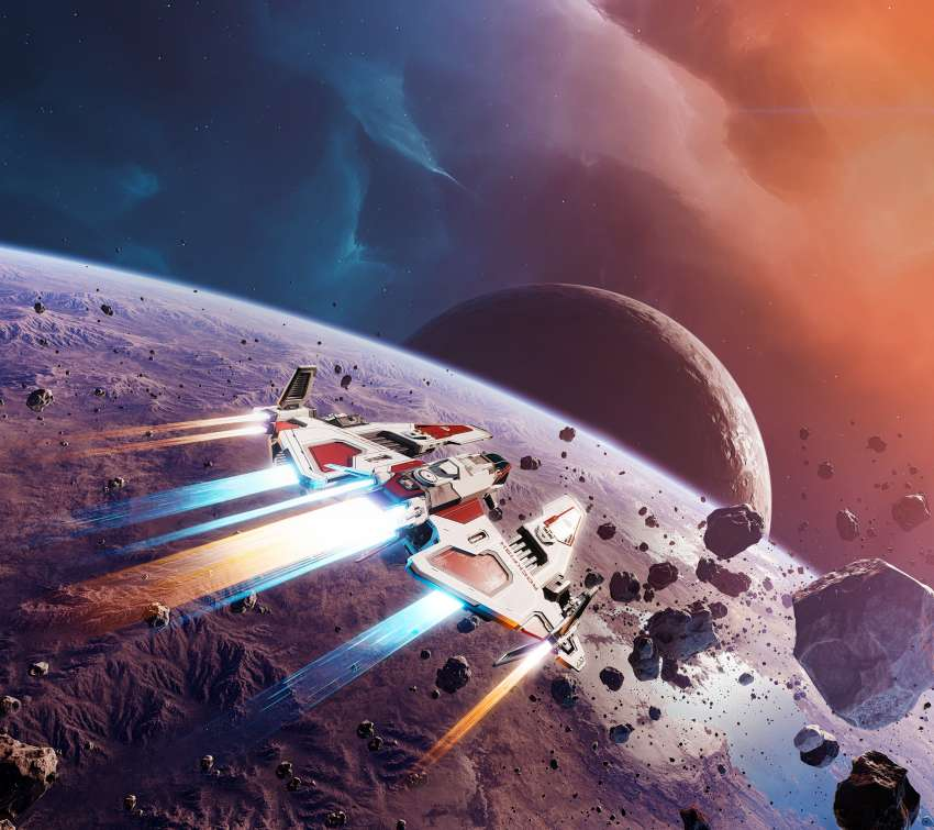 Everspace 2 Mobiele Horizontaal achtergrond