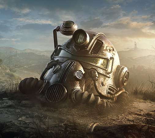 Fallout 76 Mobiele Horizontaal achtergrond