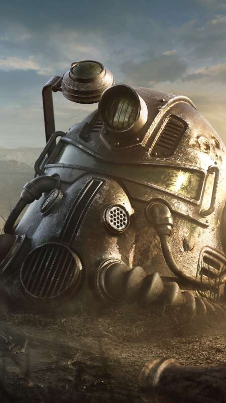 Fallout 76 Mobiele Verticaal achtergrond