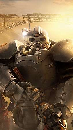 Fallout 76: Wastelanders Mobiele Verticaal achtergrond