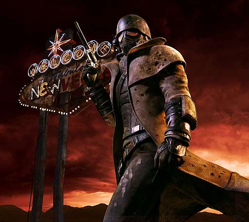 Fallout: New Vegas Mobiele Horizontaal achtergrond