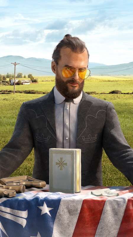 Far Cry 5 Mobiele Verticaal achtergrond