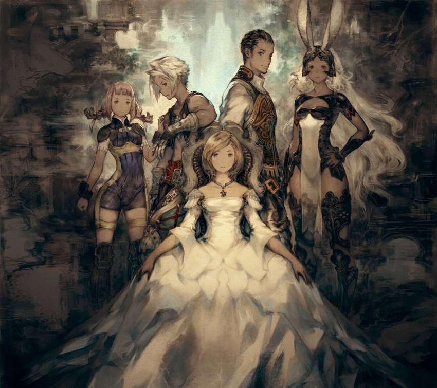 Final Fantasy XII The Zodiac Age Mobiele Horizontaal achtergrond