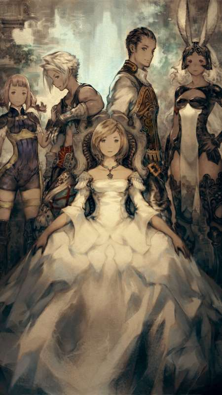 Final Fantasy XII The Zodiac Age Mobiele Verticaal achtergrond