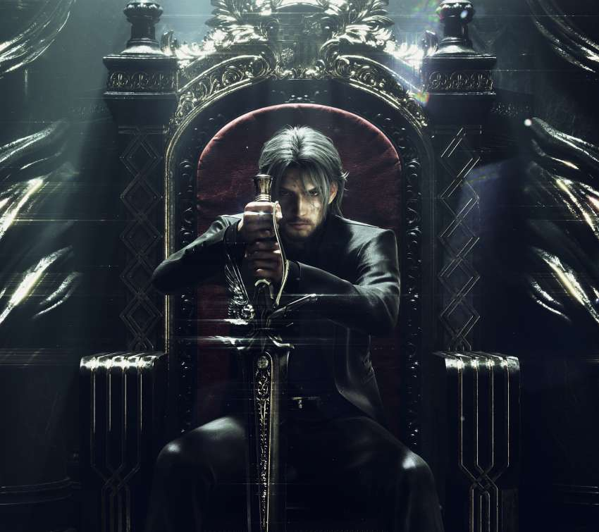 Final Fantasy XV Mobiele Horizontaal achtergrond