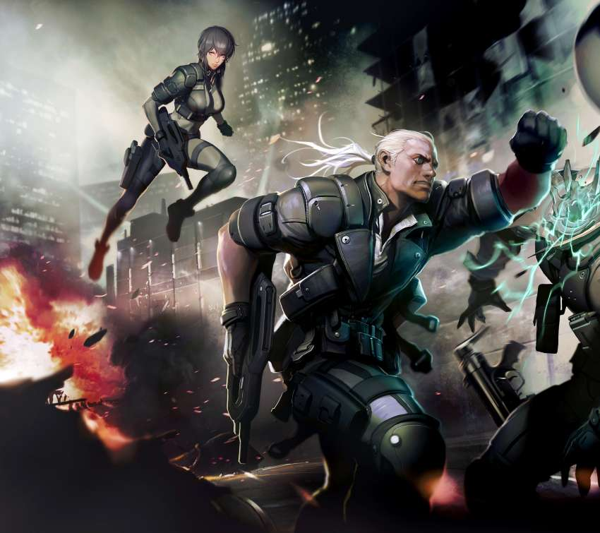 Ghost in the Shell: Stand Alone Complex - First Assault Online achtergrond